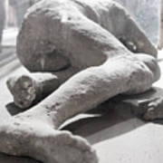 Aftermath Of Mount Vesuvius Art Print