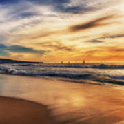 Afternoon At The Beach Art Print