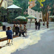 Afternoon In Bryant Park Art Print