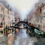 Afternoon In Venice IIi Art Print