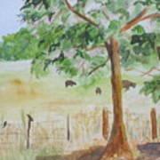Afternoon On The Farm 2 Art Print