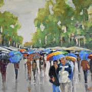 Afternoon Rain Art Print