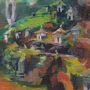 Afternoon Shrines Art Print