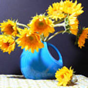 Afternoon Sunflowers Art Print