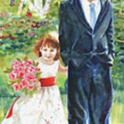 Afternoon Wedding Art Print