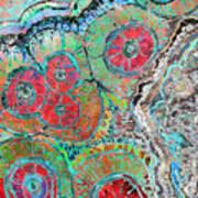 Agate Inspiration - 16b  Art Print