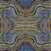 Agate Inspiration - 24c  Art Print
