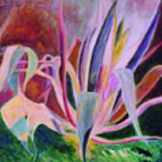 Agaves Sous Le Soleil Art Print