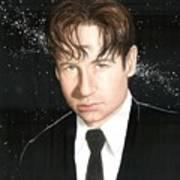 Agent Mulder Art Print