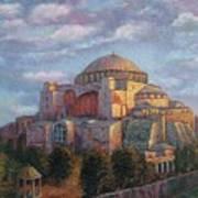 Agia Sofia Art Print
