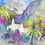 Agua Amarga Fantasy 02 Art Print