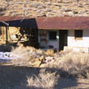 Aguereberry Camp - Death Valley Art Print