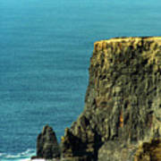 Aill Na Searrach Cliffs Of Moher Ireland Art Print
