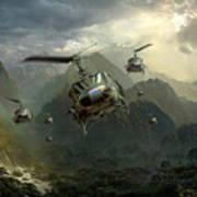 Air Assault Art Print