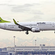 Air Baltic Boeing 737-300 Art Print