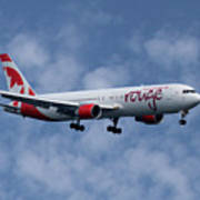 Air Canada Rouge Boeing 767-333 1 Art Print
