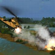 Air Conflicts Vietnam Front Art Print