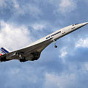 Air France Concorde 118 Art Print