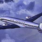 Air France Connie Art Print