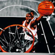 Air Jordan Above The Rim Art Print