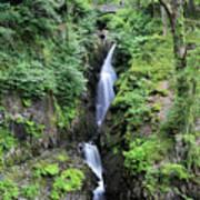 Aira Force Waterfall, Aira Beck, Ullswater, Lake District Art Print
