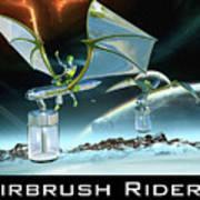 Airbrush Riders Art Print