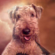 Airedale Art Print