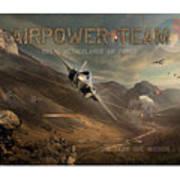 Airpower Team Art Print