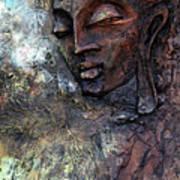 Ajanta Buddha 2 Art Print