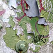 Ajar Art Print