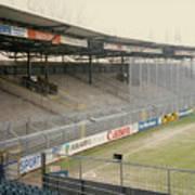 Ajax Amsterdam De Meer Stadion East End Terrace April 1992 Poster