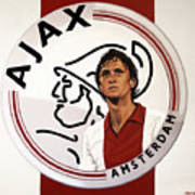 Ajax Amsterdam Painting Art Print