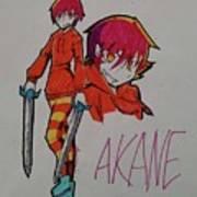Akane Art Print