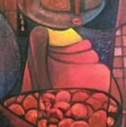Akara Woman Art Print