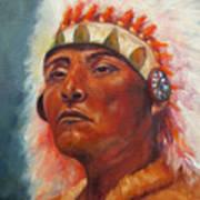 Akecheta, Native American Art Print