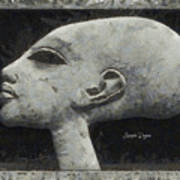 Akhenaten Was Among Us Art Print