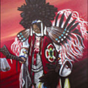 Akwesasne Mohawk Art Print