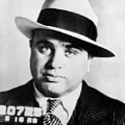 Al Capone Mugsot Art Print