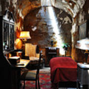 Al Capone's Cell - Eastern State Penitentiary Art Print by Bill Cannon