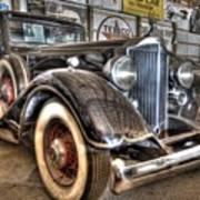 Al Capone's Packard Art Print