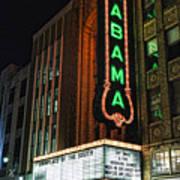 Alabama Theater Art Print