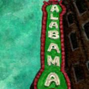 Alabama Theatre Art Print