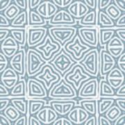 Alahambra Blue Art Print