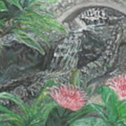 Alameda Gardens, Gibraltar Art Print