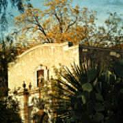 Alamo Mission Art Print
