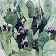 Alamo Prickly Pear Print by Jeffrey S Perrine