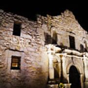 Alamo Remembrance Art Print