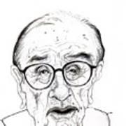 Alan Greenspan Art Print