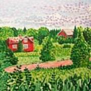 Aland Landscape Art Print