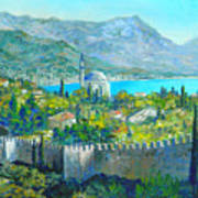 Alanya Turkey Art Print